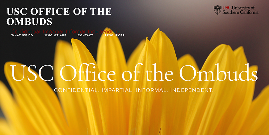 Office of the Ombuds home page